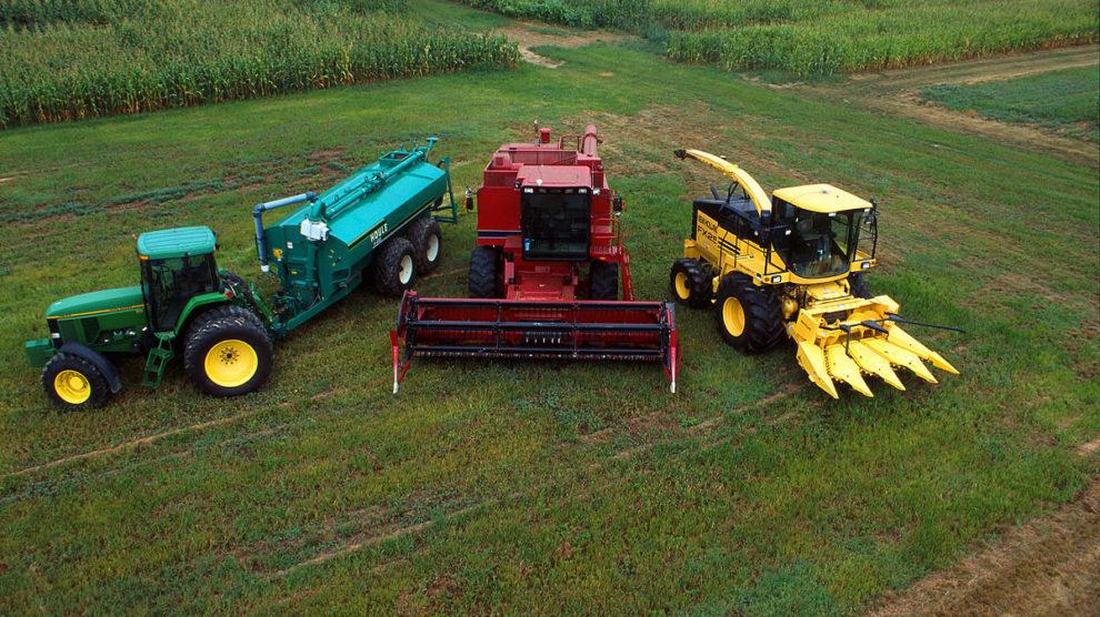 ЛФМ для фарбування сільськогосподарської техніки